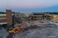 Overland Park KS Metcalf South Mall Demolition