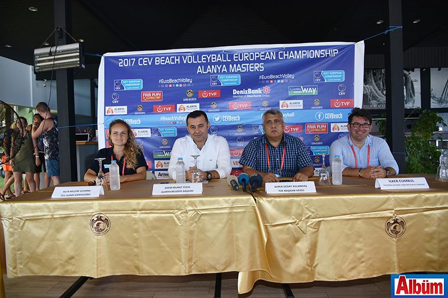 2017 CEV Bayanlar Plaj Voleybolu Avrupa Şampiyonası Alanya5