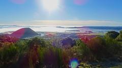 View towards Lake Taupo from Te Ponanga Saddle Road