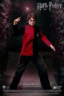 Star Ace Toys  Real Master 系列 哈利波特-火盃的考驗【哈利·波特】三巫鬥法大賽版本 Harry Potter Tri-Wizard Tournament Version 1/8 比例人偶作品