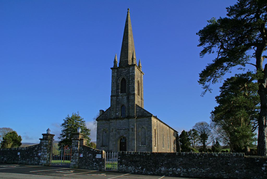 County Tyrone, OMAGH, St Eugen C Colin Boyle