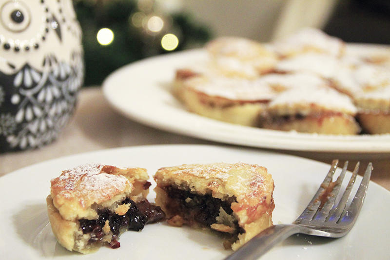 Christmas Traditional Mince Pies Recipe blogger UK