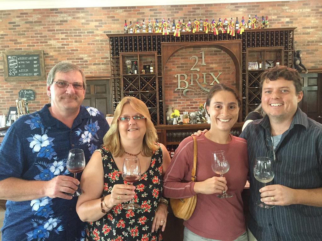 21 Brix Winery, Portland, NY 1