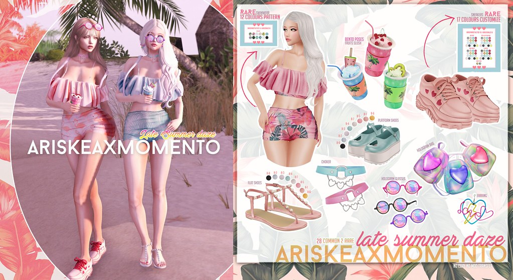 AriskeaxMomento -Late Summer Daze - - SecondLifeHub.com
