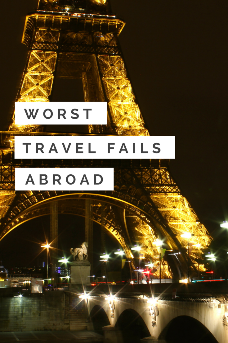 From bed bug bites to getting scammed, travel mishaps happen to the best of us. Here are my 5 biggest travel fails!