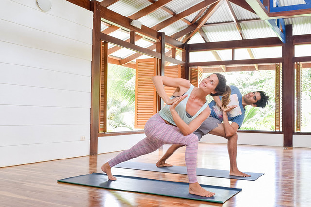 Yoga Poses for Post Travel