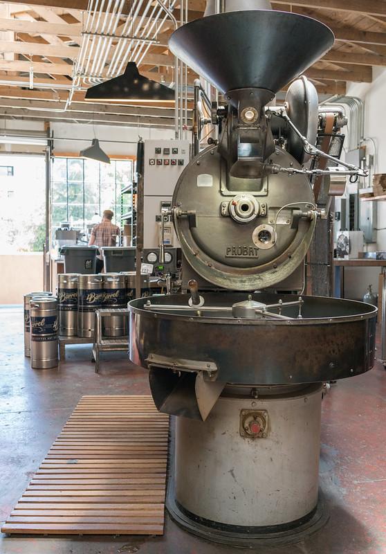 Four Barrel coffee roaster