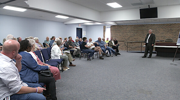 Residents Share Concerns at Community Conversation
