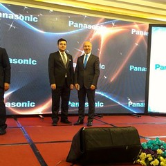 """Panasonic Brand Co. International Promotional Festival in Tehran, Iran, & Nader Namdaran consecutively interpreting for the top Panasonic managers on stage, in Espinas Palace hotel, 27th July, 2017. """""""""""""""""""""""""""""""""""""""""""""""""""""""""""" #Nader_Namdaran #simultaneous_interprete"""