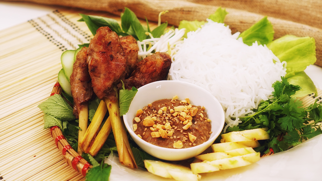 Vietnamese Lemongrass Skewer