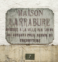 Photo of Stone plaque number 43500