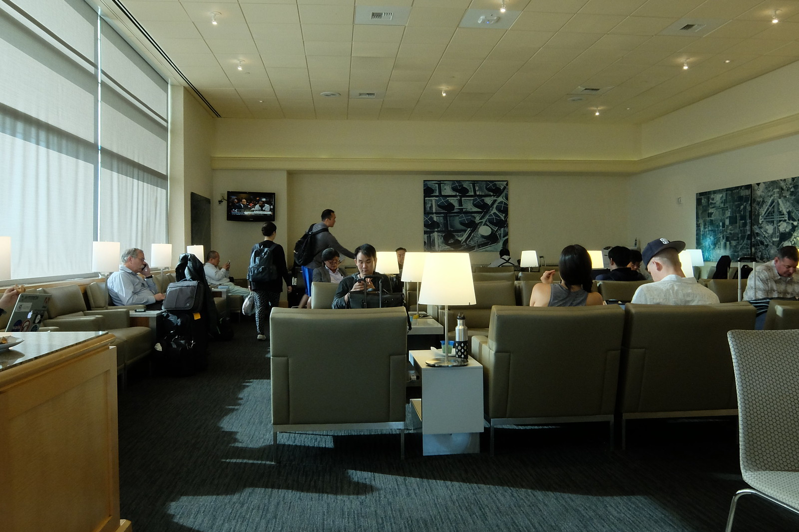 United San Francisco Lounge