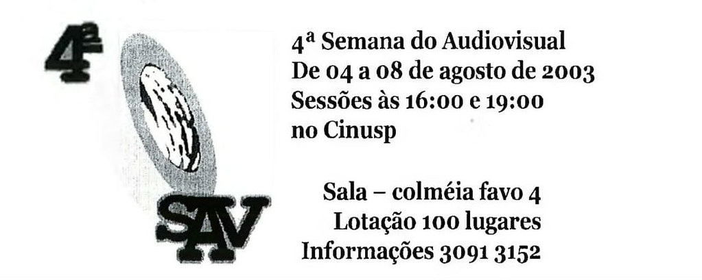 4ª Semana do Audiovisual
