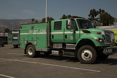 U.S. Forest Service truck