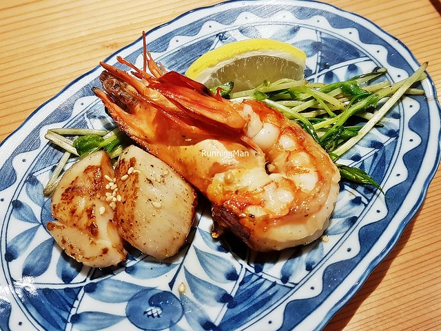 Shrimp & Scallop Set A