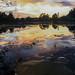 Reflection on a lake