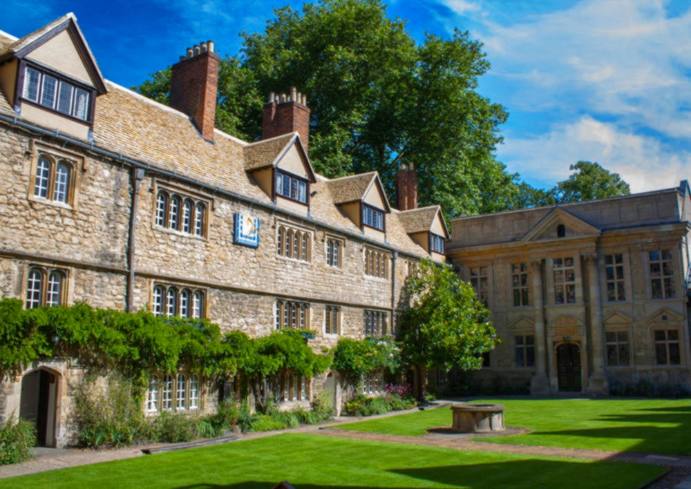 St Edmund Hall, Oxford. Credit simononly
