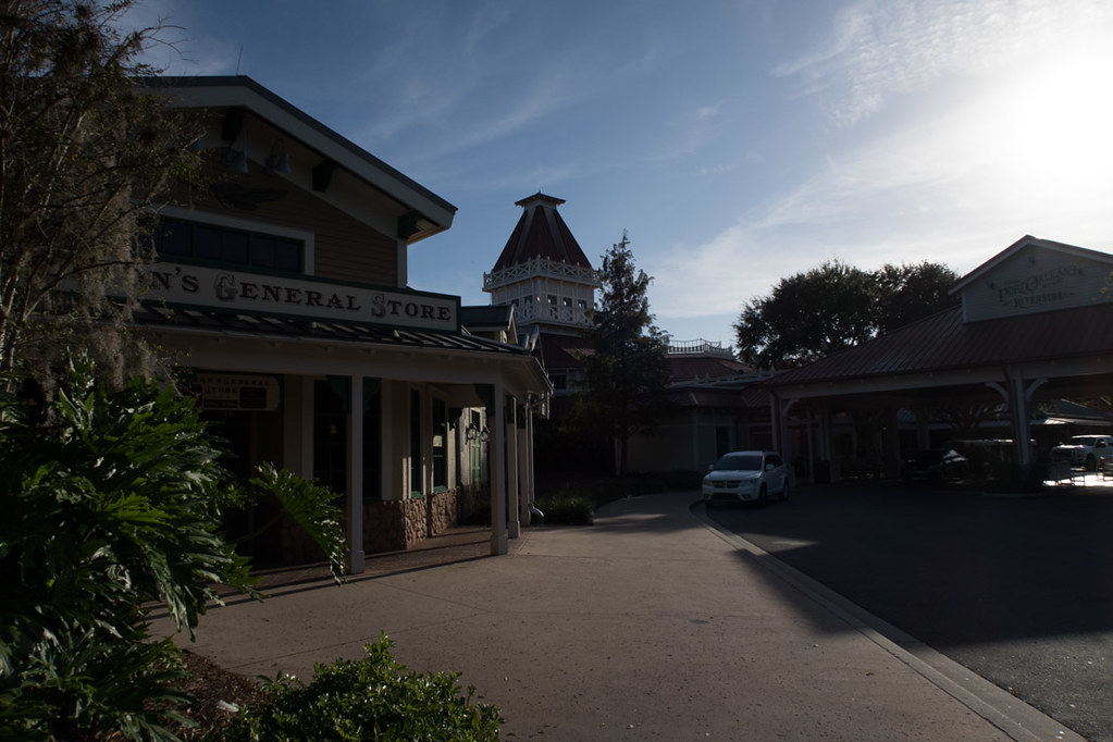 Entrance to Port Orleans Riverside