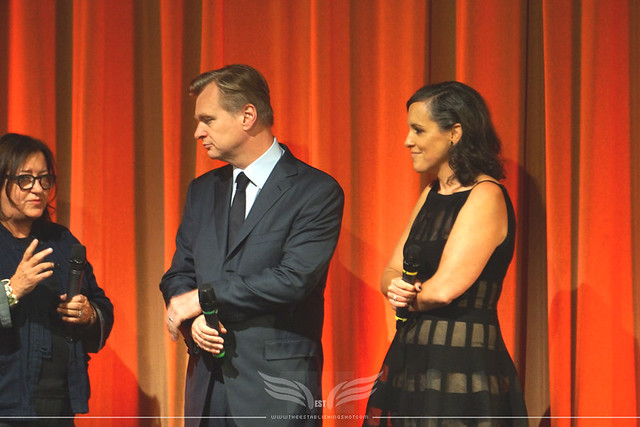 The Establishing Shot: CHRISTOPHER NOLAN & EMMA THOMAS INTRODUCE DUNKIRK AT THE BFI, LONDON