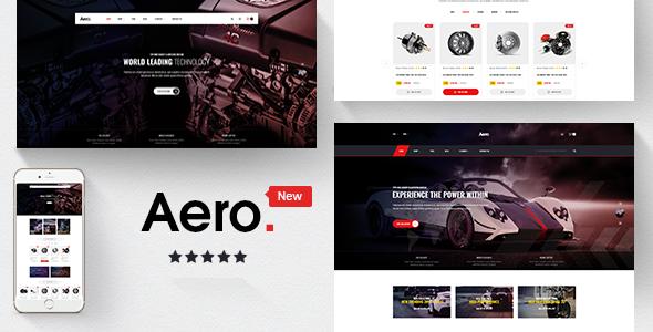 Aero v1.0 – Car Accessories Responsive Prestashop 1.7 Theme