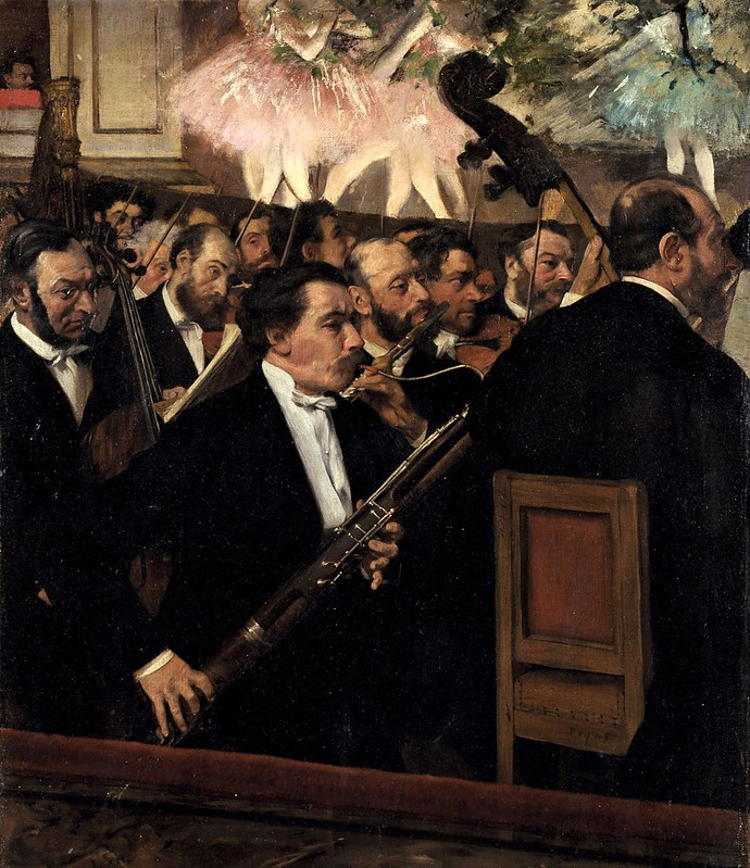 Edgar Degas - The Orchestra at the Opera (c.1870)