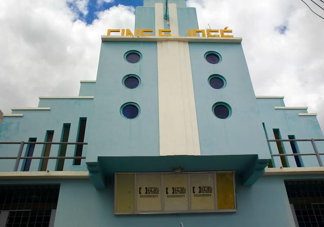 O cinema é um dos principais espaços culturais da cidade - Créditos: Thiago Caldas