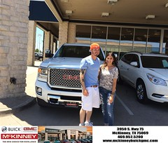 #HappyBirthday to Clay from Brett Stein at McKinney Buick GMC!