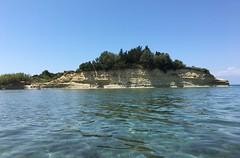 Mediterranean Sea of Corfu Island - No Text