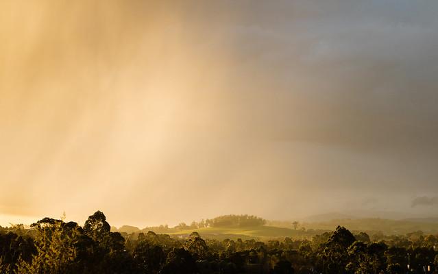 Sun shower passing winters, Canon EOS M3, Tamron 18-200mm F/3.5-6.3 Di III VC