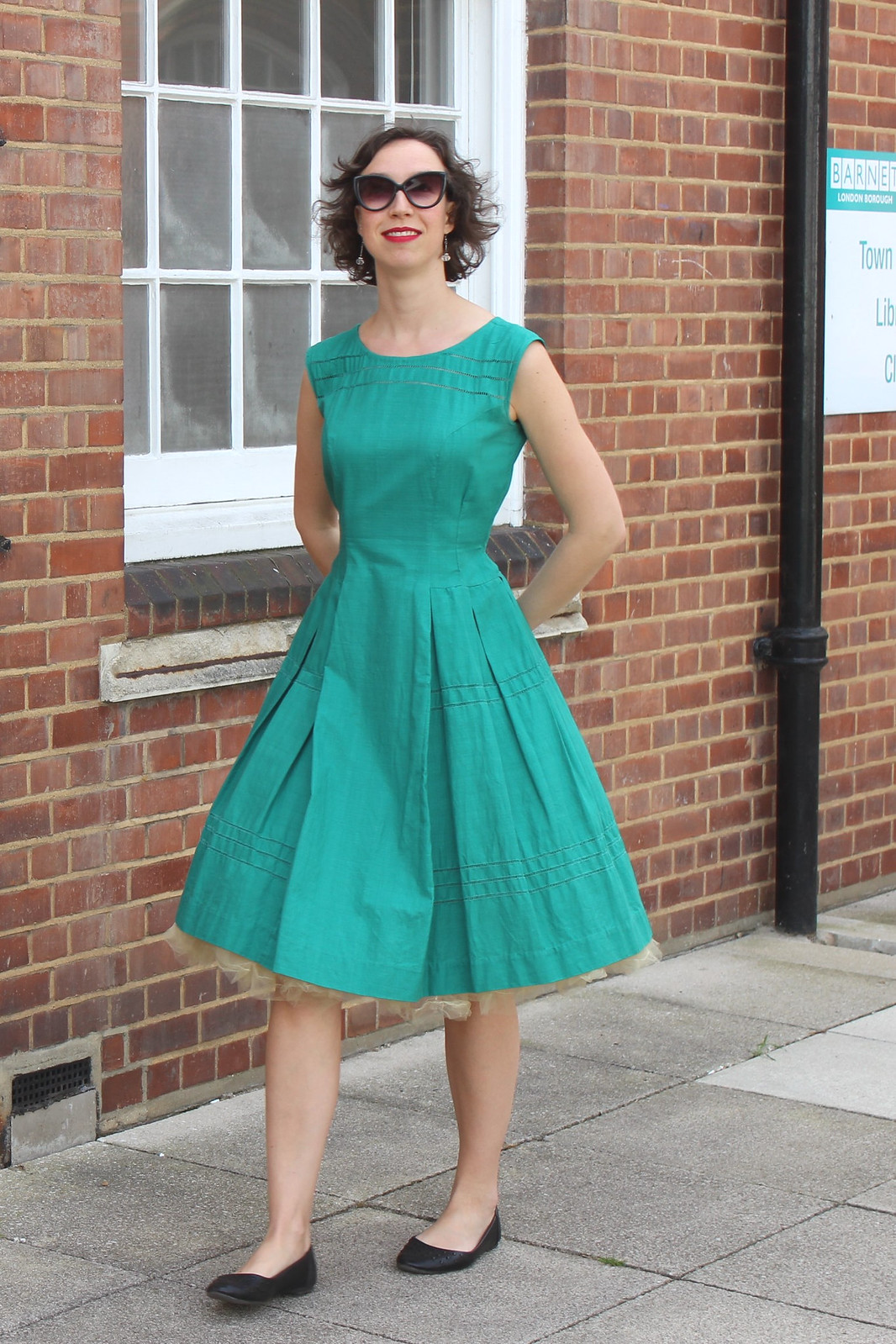 Emerald dress / etdrysskanel.com
