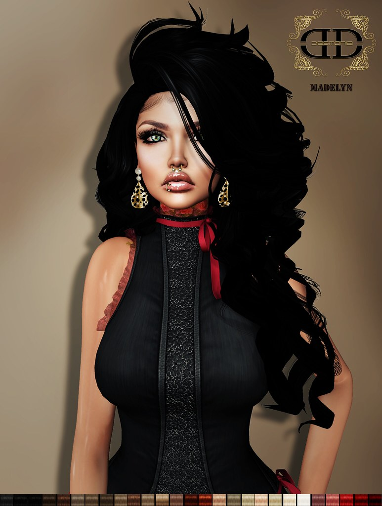 Madelyn Hair Fatpack now in Mainstore & MP - SecondLifeHub.com