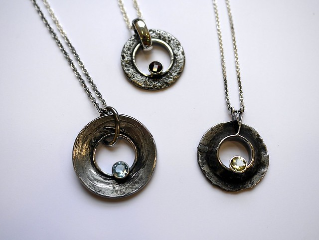 Three Circular Pendants