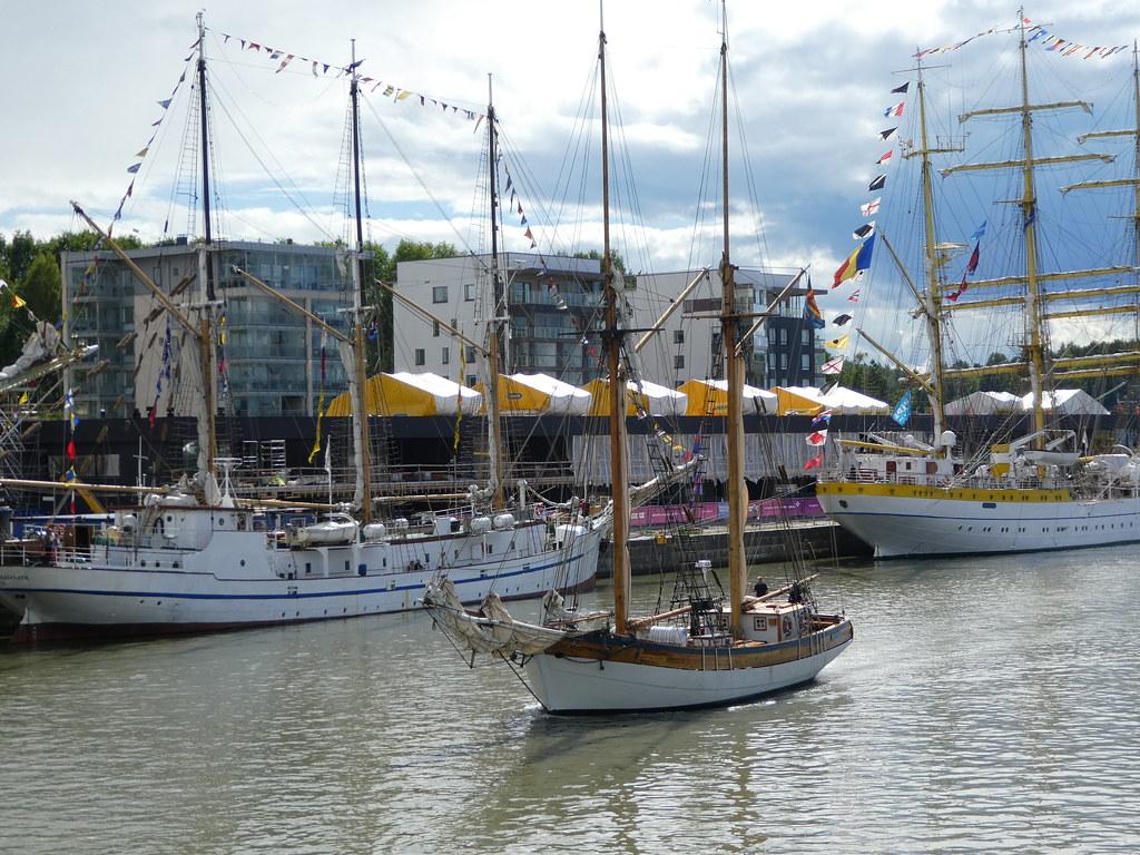 Tall Ships Race, Turku, Finland