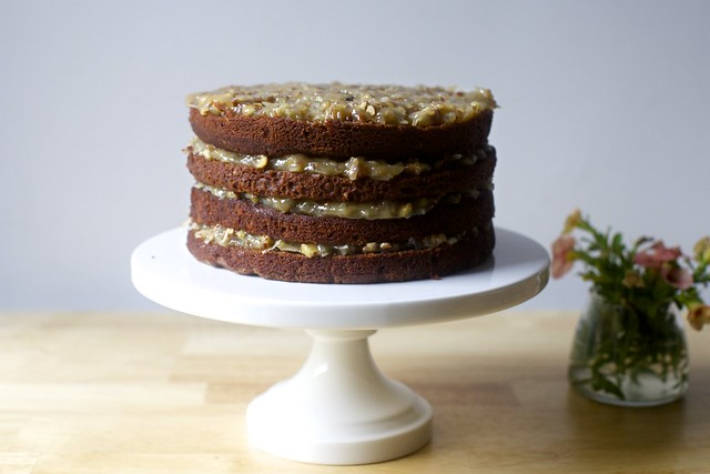german chocolate (baby) cake