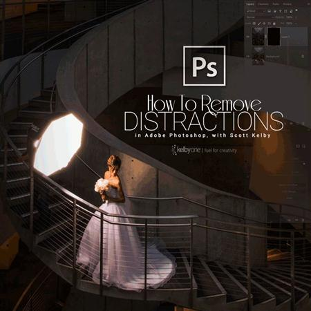 How to Remove Distractions in Adobe Photoshop