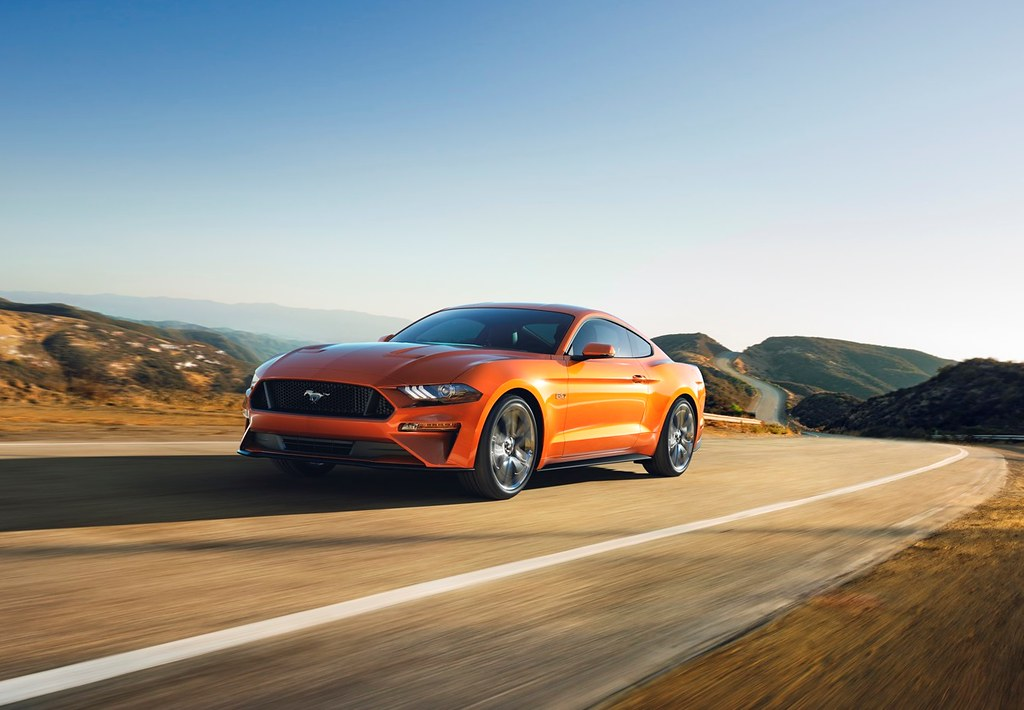 2018 Mustang GT can go 0-to-60 mph in less than four seconds