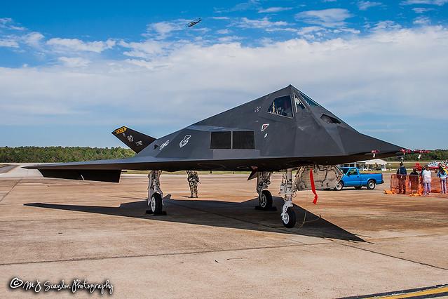 80-0790 | Lockheed F-117A Nighthawk | Little Rock AFB