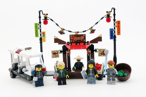The LEGO Ninjago Movie Ninjago City Chase (70607)