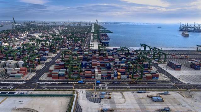 Pasir Panjang container Terminal