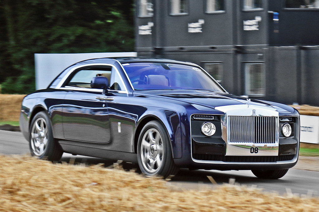 Rolls Royce Sweptail 08 Guernsey A True One Off And