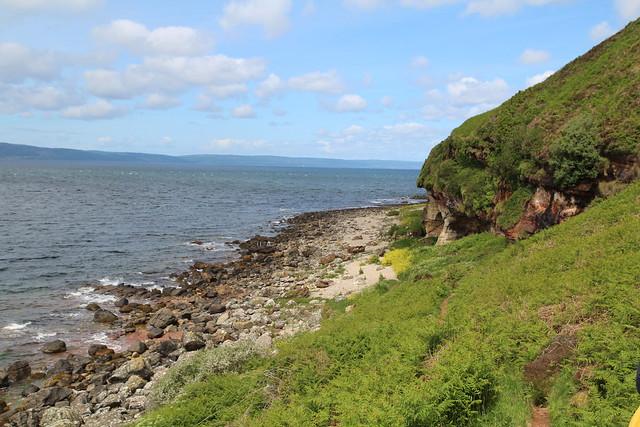 Isle of Arran - King's Cave walk