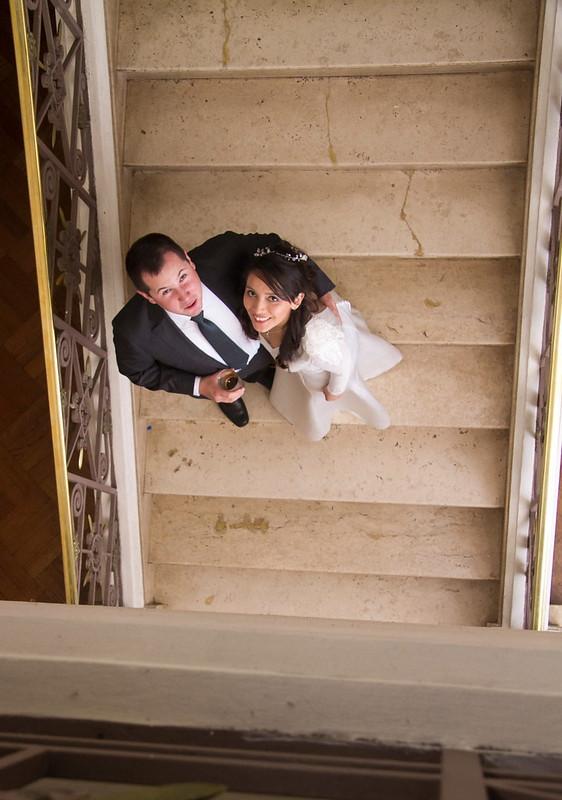 ya casados y felices