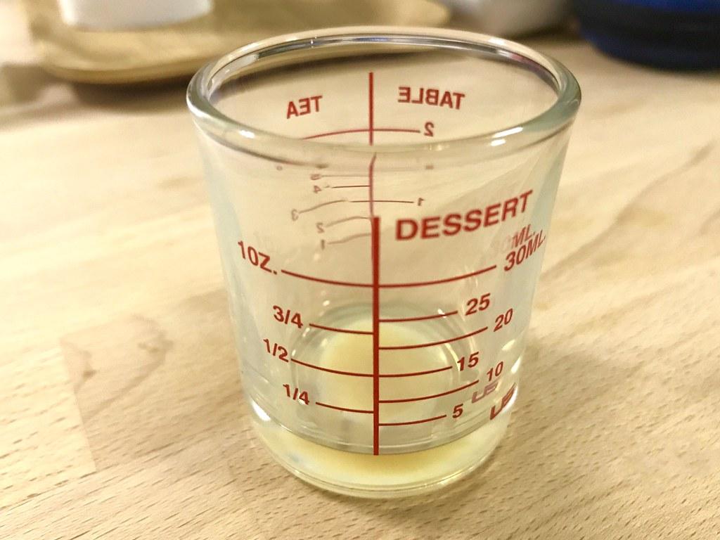 drink Irish Cream with Measure glass