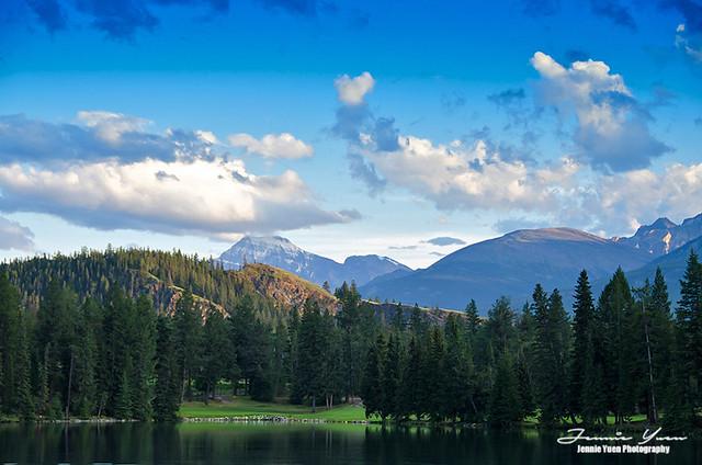 Lac Beauvert, Jasper National Park