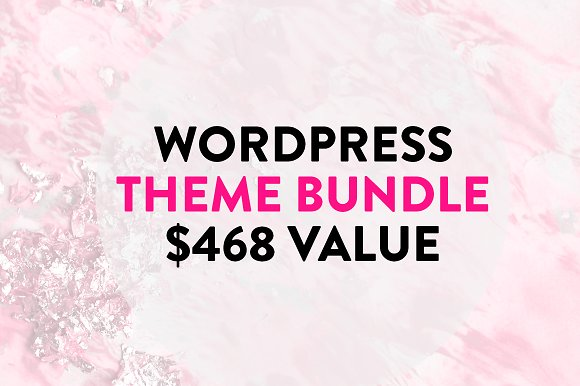 CreativeMarket WordPress Theme Bundle 10 in 1