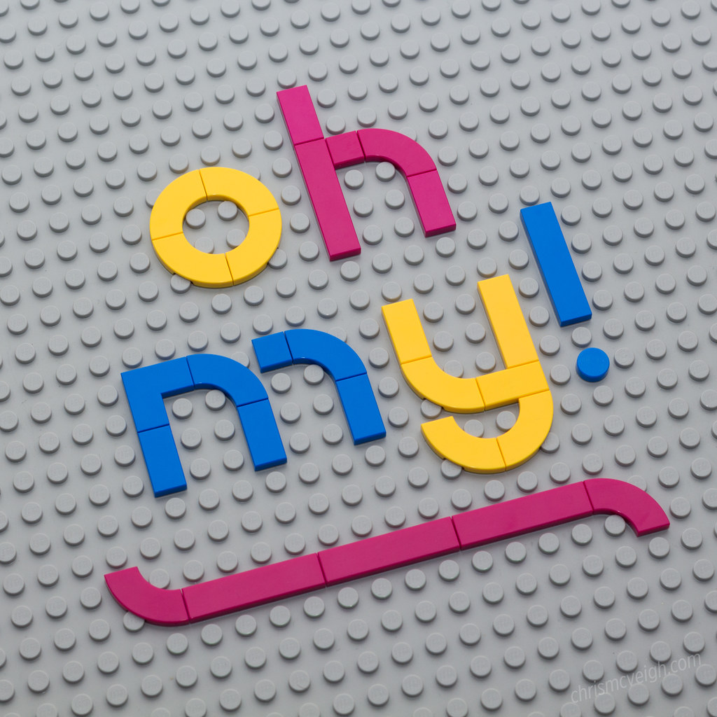 Text Experiment - Oh my!