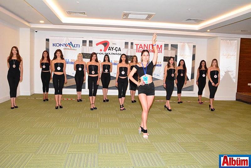Miss Mediterranean 2017 Finalistleri Side'de -3