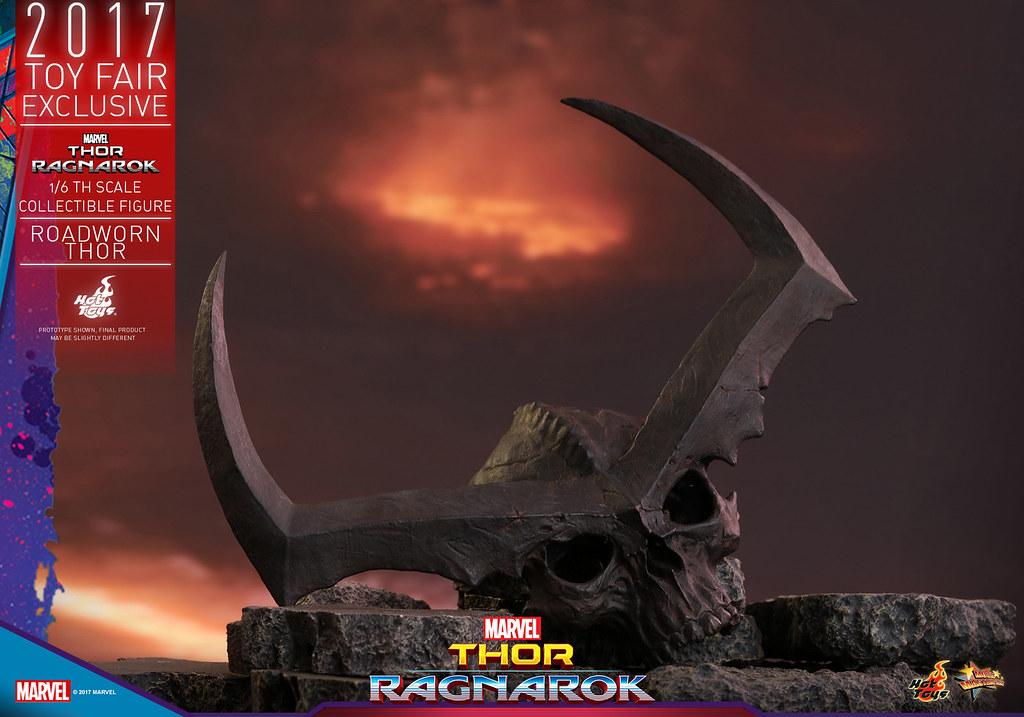 Hot Toys - MMS416 - 《雷神索爾3:諸神黃昏》1/6 比例 【浪人索爾】Thor: Ragnarok Roadworn Thor