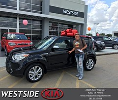 Happy Anniversary to Roberto on your #Kia #Soul from Orlando Baez at Westside Kia!