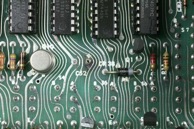 Data Precision 3500 Charred PCB